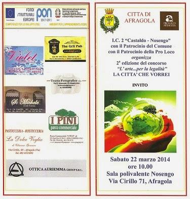 Afragola(NA): si è concluso il concorso artistico